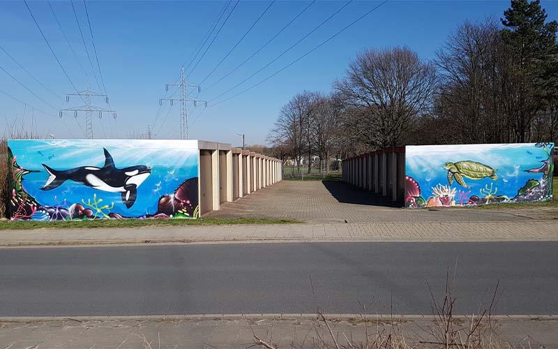Kunst gegen Vandalismus: Graffiti & Street-Art verschönern jede Schmiererei